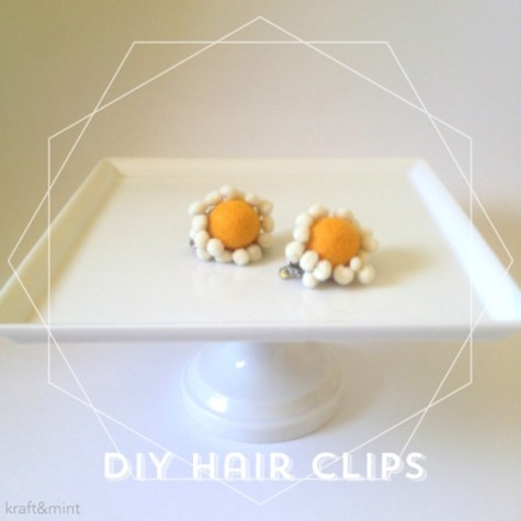 Diy Fall Inspired Hairclips