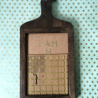 kraft&mint DIY Pin Board
