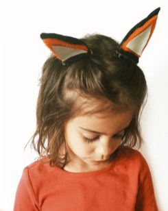 DIY Fox Clippies tutorial by kraft&mint