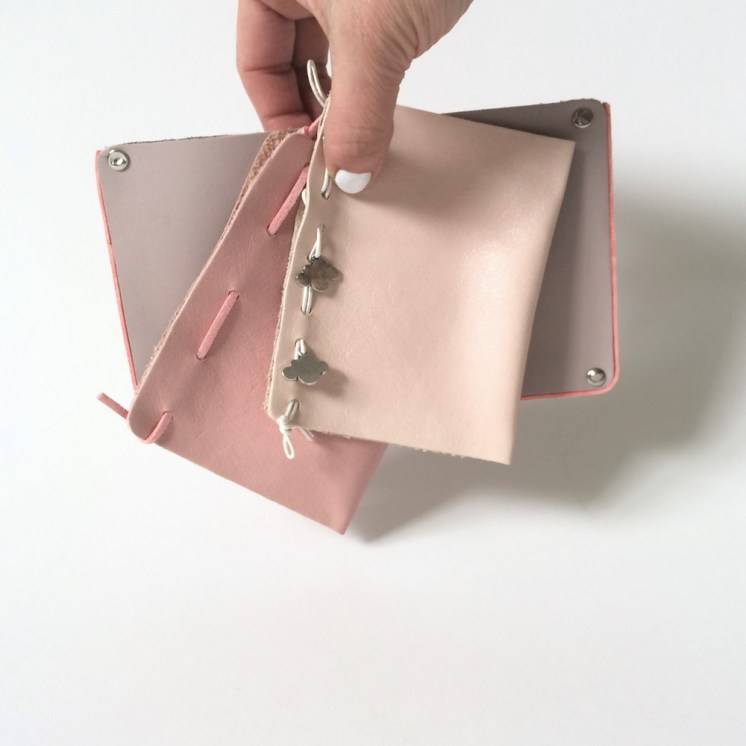 Make Pretty Leather Pouches to Store your Treasures Part 2