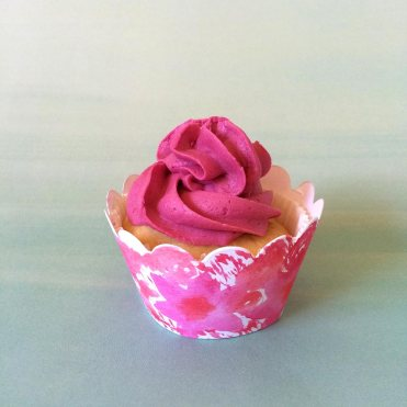 DIY Watercolor Cupcake Wrappers