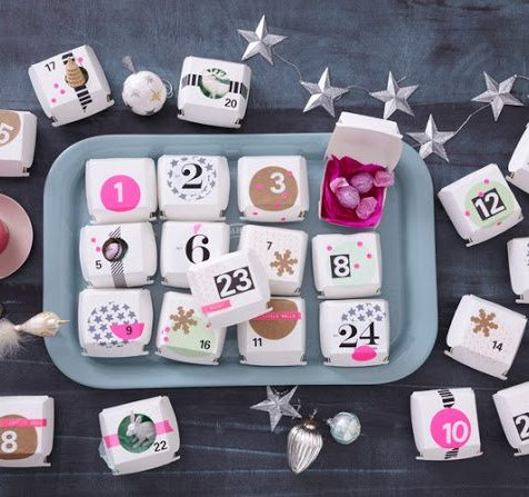 Friday Finds - Advent Calendars kraft&mint roundup
