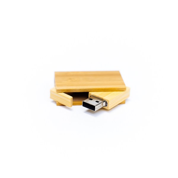 opened Book flash drive