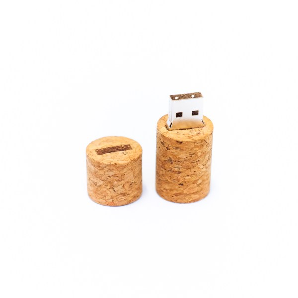 Pluck open the cork cover just like you would open up something fun