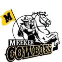 Meeker Cowboys horse cowboy flag
