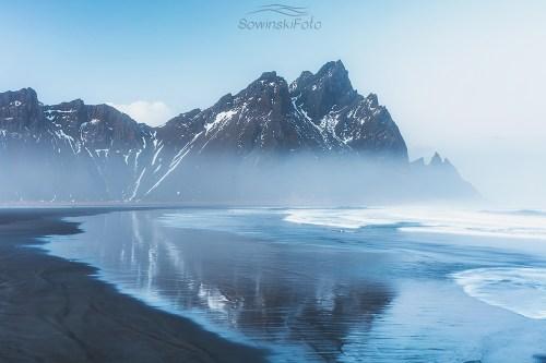 Pusta plaża/ Islandia