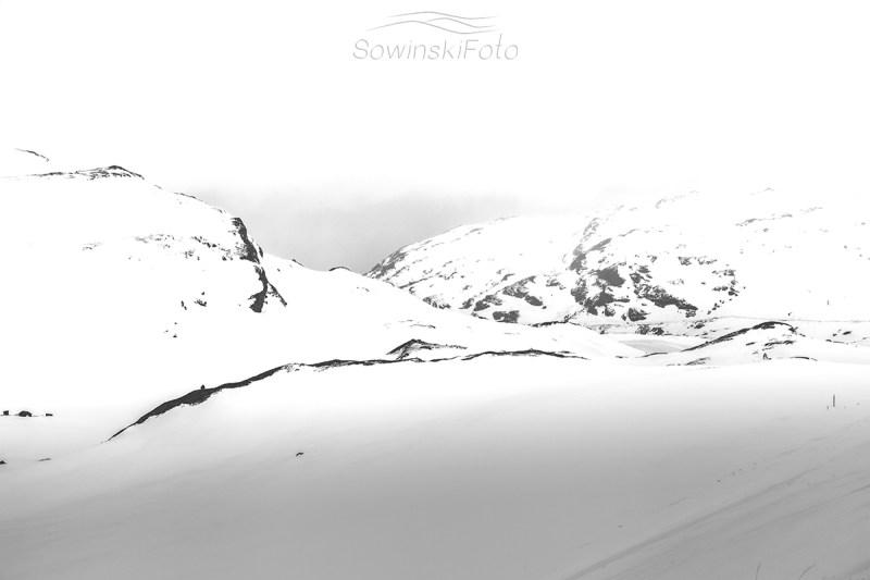 Góry czarno białe