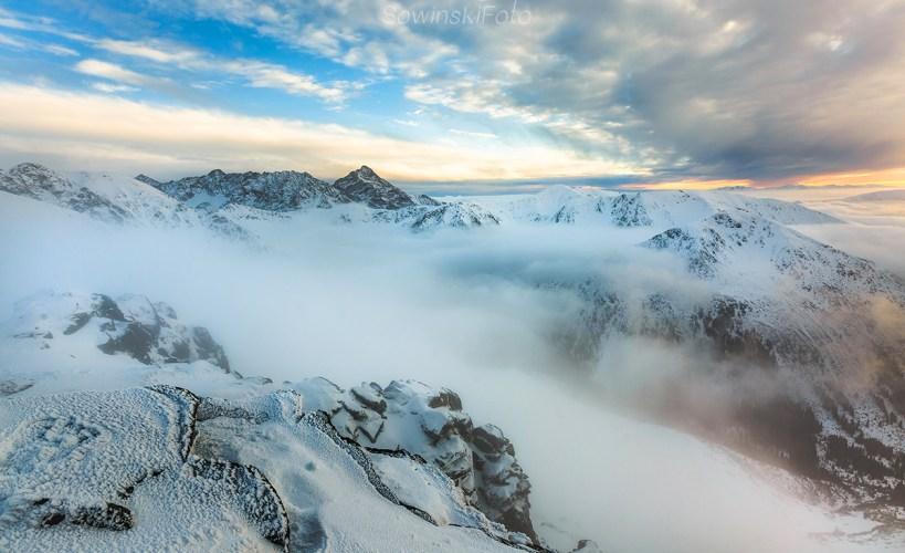 Krywań krajobraz góry