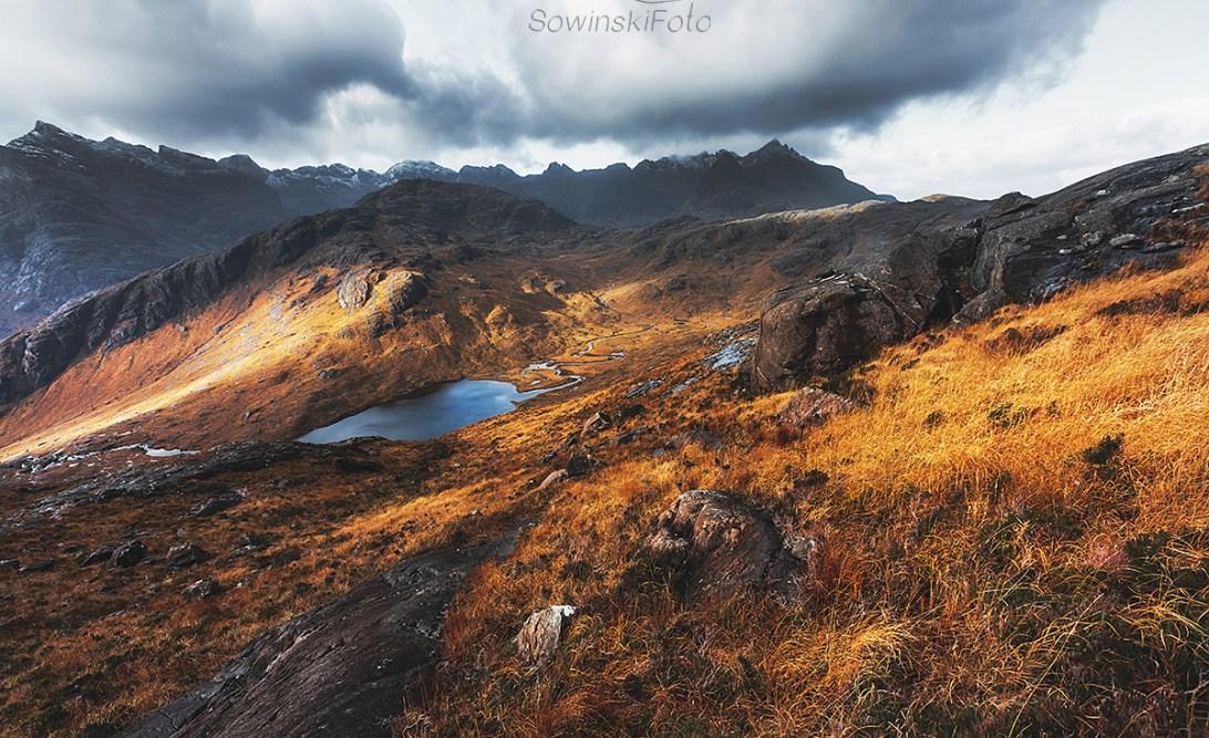 Szkocja góry zdjęcie do druku