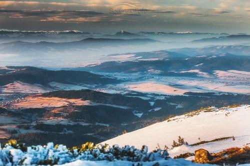 Babia Góra Wielki Chocz krajobraz