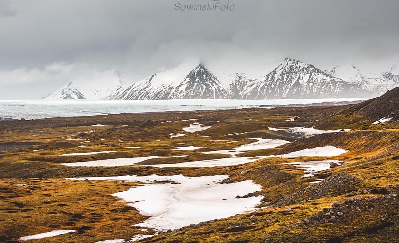 Islandia lodowiec krajobraz