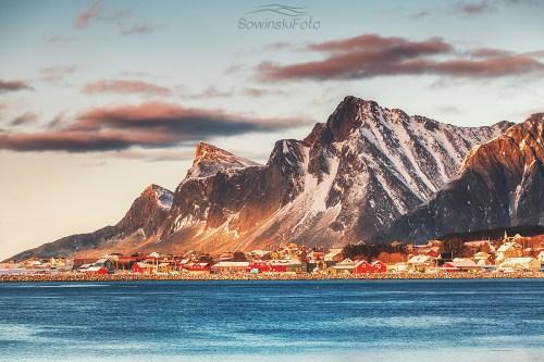 Norwegia góry krajobraz