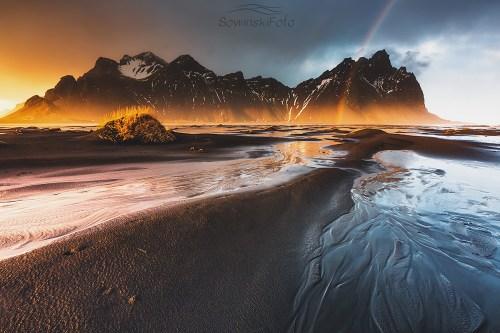 Islandia krajobraz do druku