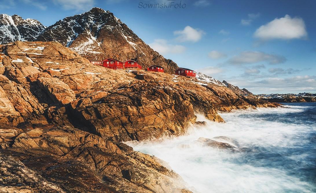 Norwegia Lofoty krajobraz do druku