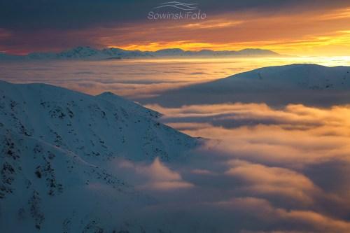 Tatry zachód słońca duże zdjęcie