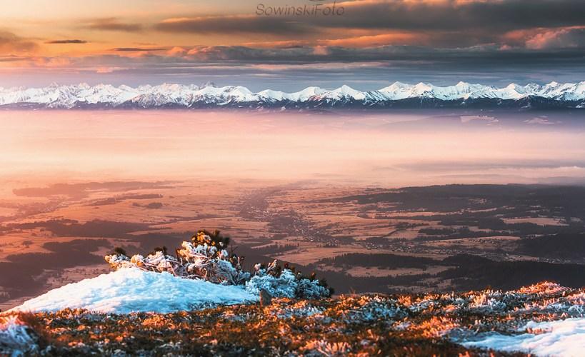 Babia Góra zdjęcie wydruk