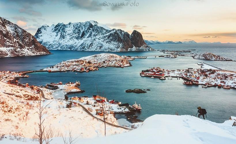 Reine Norwegia kup zdjęcie