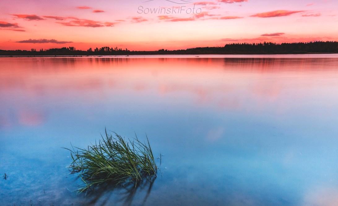 Krajobraz woda zdjęcie na płótnie