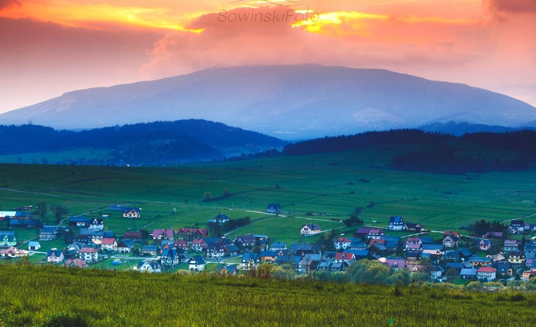 Krajobraz Babia Góra Podwilk