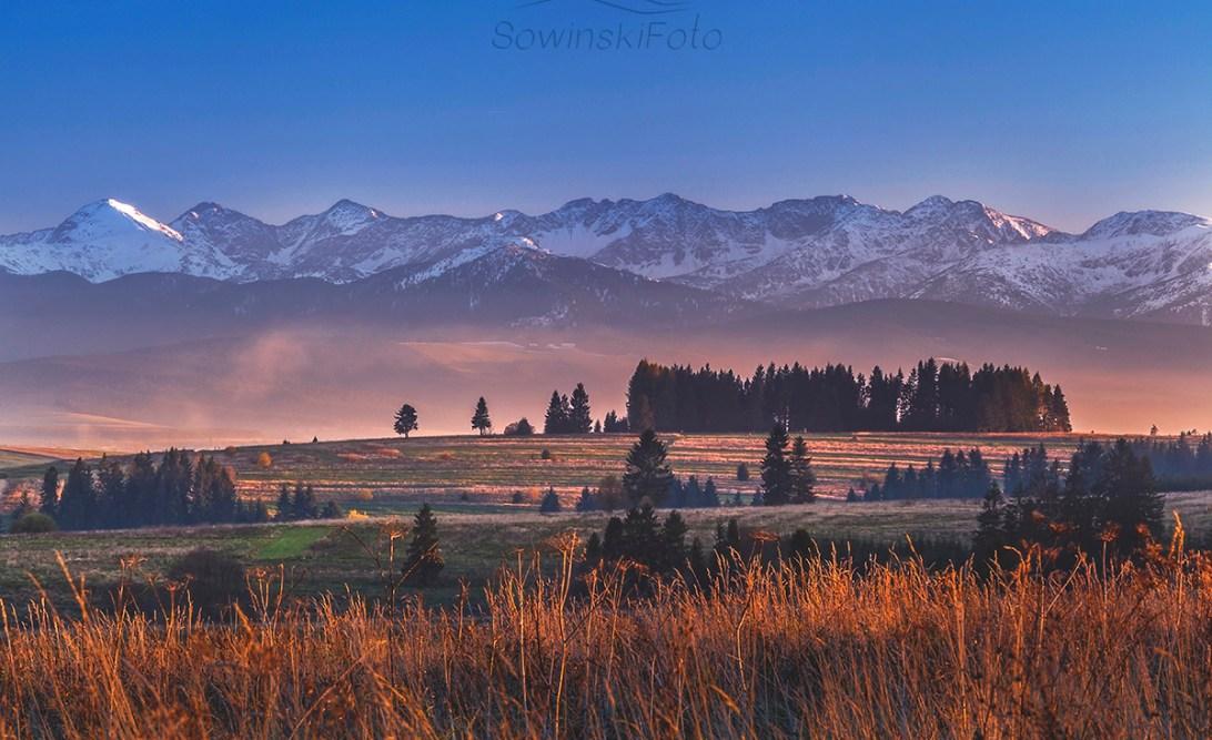Krajobraz Orawa Zubrzyca Dolna zdjęcie