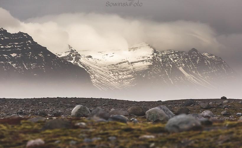 W objęciach wody /Islandia