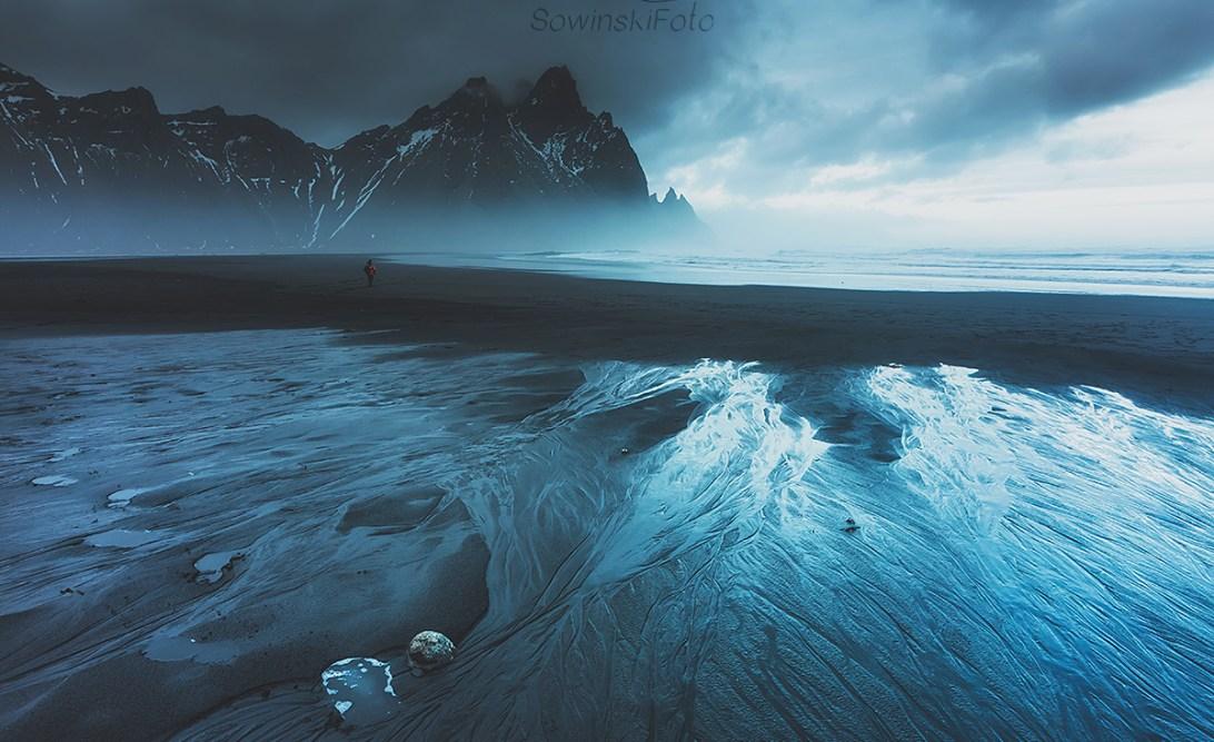 Dekoracja wnętrz Góry morze Islandia