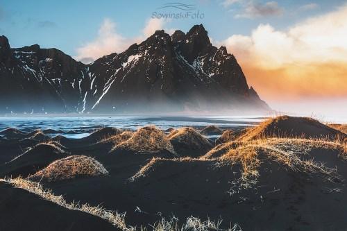 Stokksnes plaża zdjęcia