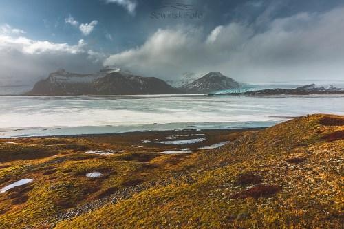 Zdjęcie na płótnie lodowiec