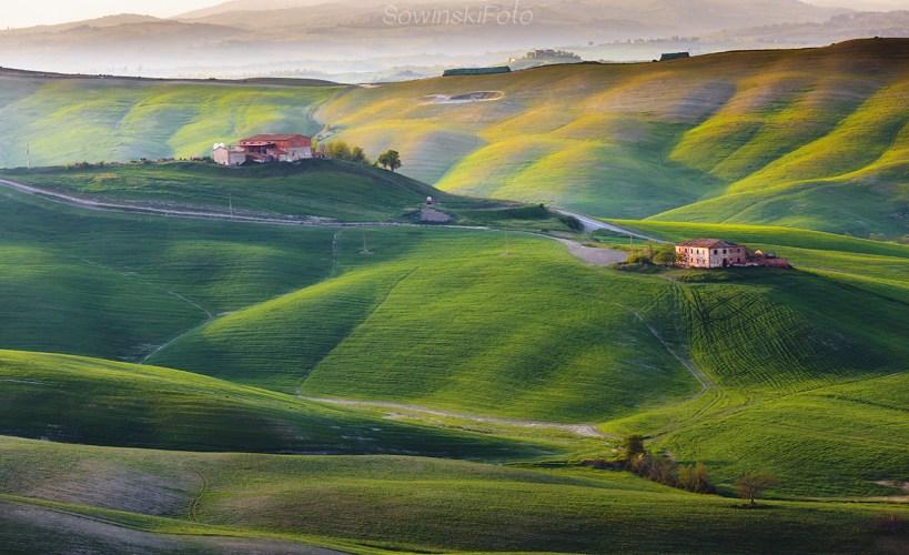 Toskania farmy