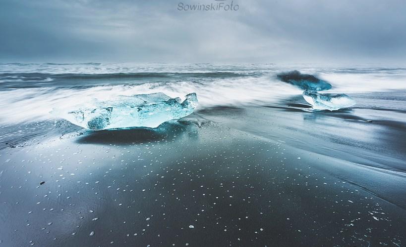 Diamentowa plaża Islandia