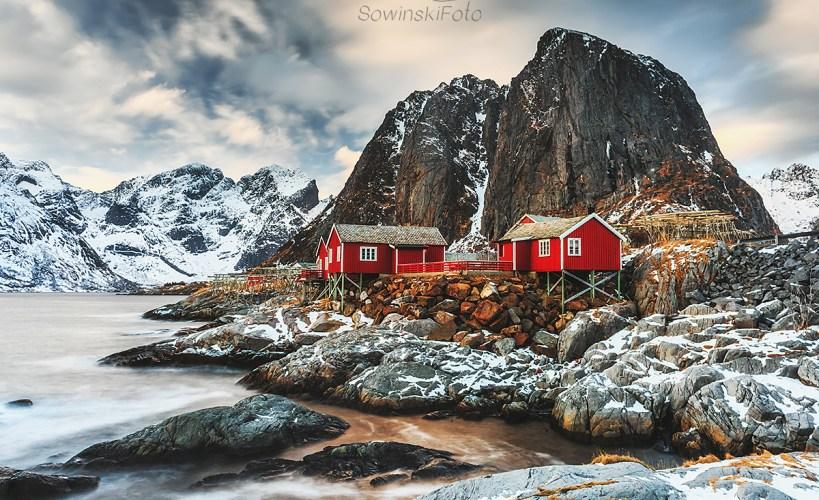 Hamnoy Norwegia