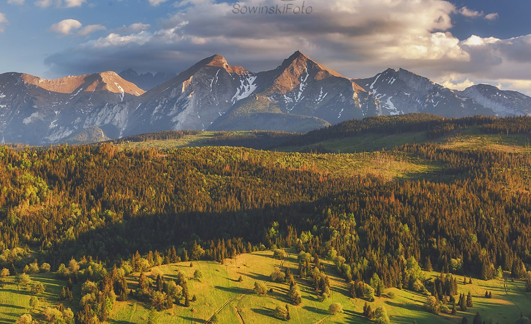 Tatry zdjęcie gór Hawrań