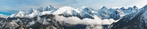 Zimowe Tatry Szczyty