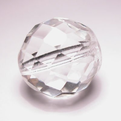facet crystal 18 mm