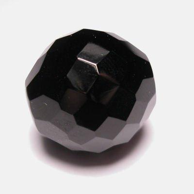 facet zwart 20 mm