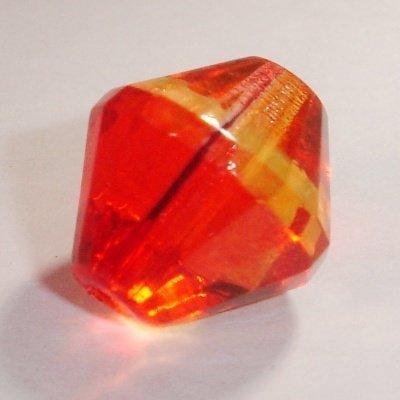 facet konisch rood/geel 14 mm