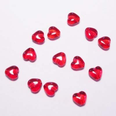 hartje rood 6 mm