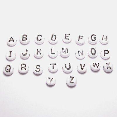 letterkraal wit 7 mm  B