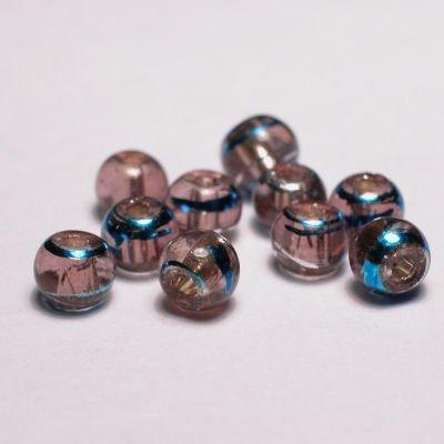 rond met streep rose 4 mm