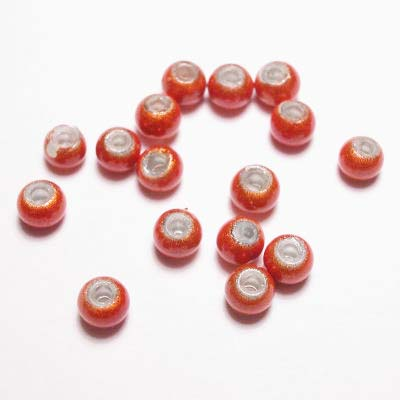 miracle bead oranje 4 mm
