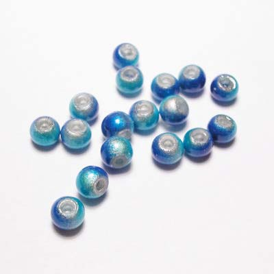 miracle bead blauwturkoois 4 mm