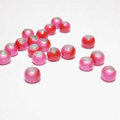miracle bead rozerood 4 mm