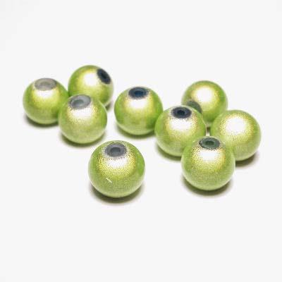 miracle bead lichtgroen 8 mm
