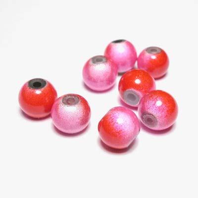 miracle bead rozerood 8 mm
