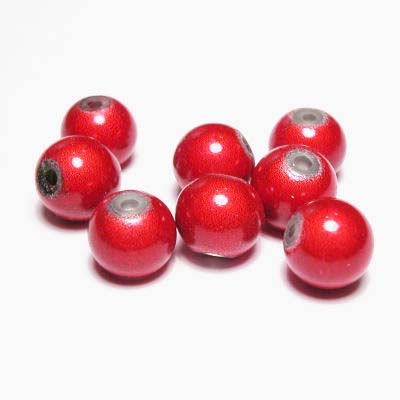 miracle bead rood 8 mm