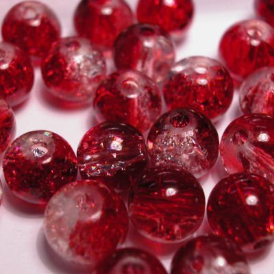 crushed beads 8 mm kleur 4295