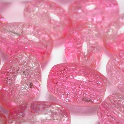 crushed beads 10x8 mm kleur 5385
