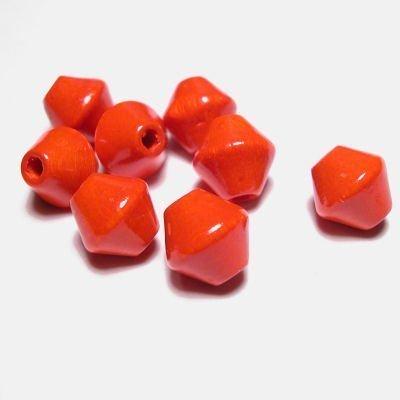 kraal konisch oranje 8 mm