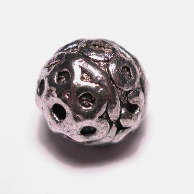 metalen kraal 9 mm