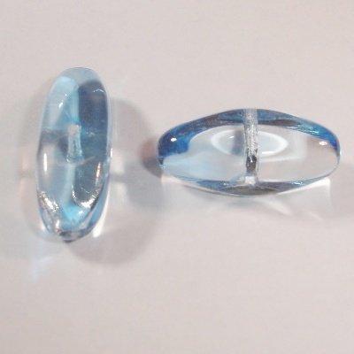 kraal ovaal l.blauw 9x19 mm